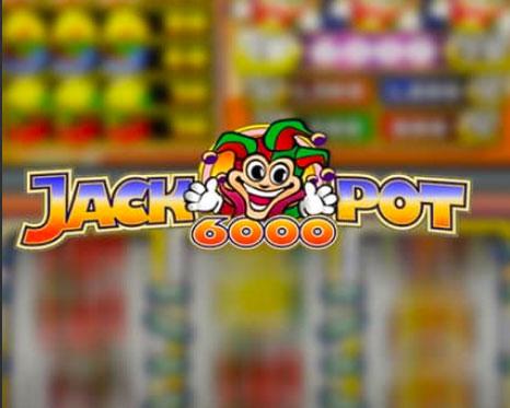 Jackpot 6000 Casino Game