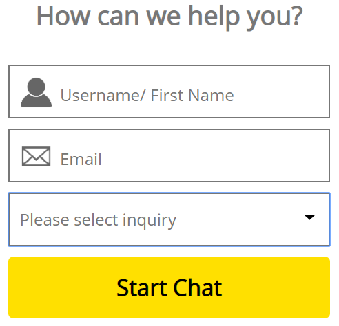 The live-chat window at Dafabet