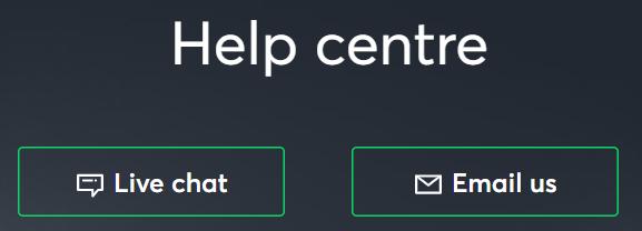 "picutre of the ""help centre box""."