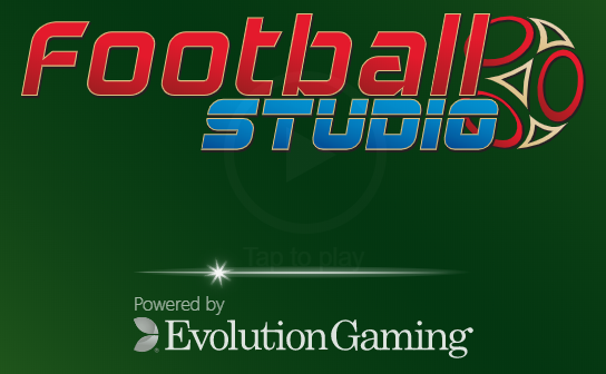 Football Studios is developed by Evolution Gaming