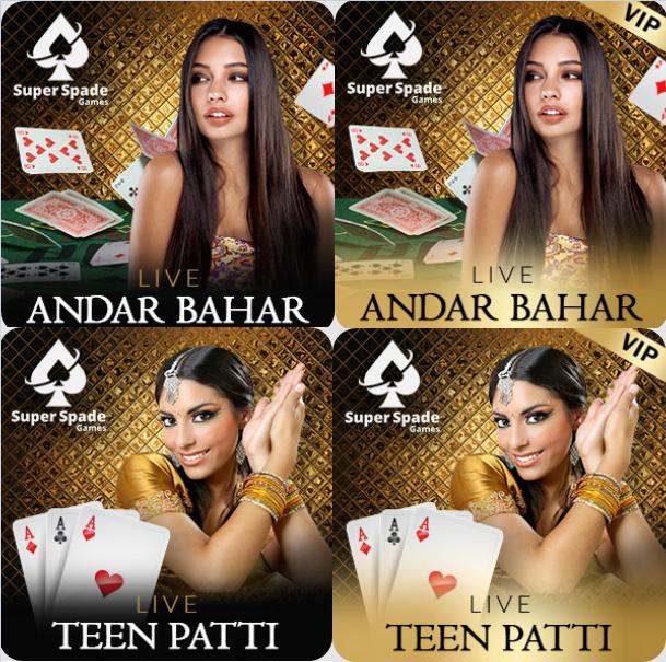 Andar Bahar and Teen Patti