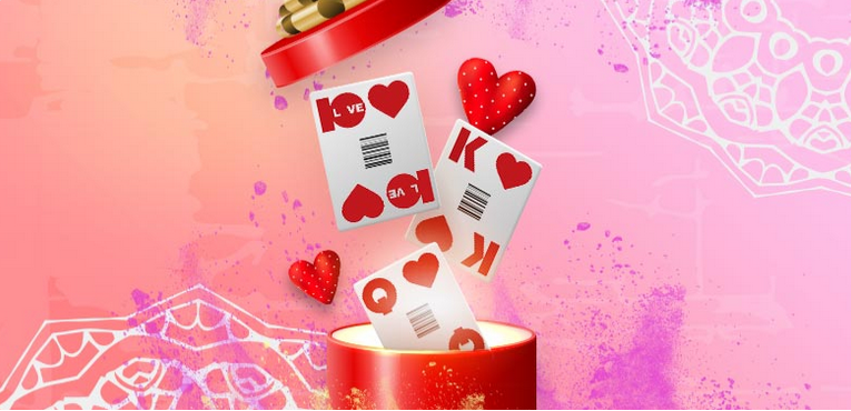 Private Blackjack Valentine Gift