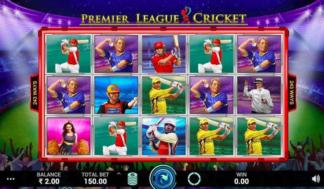 Premier League Cricket Slot