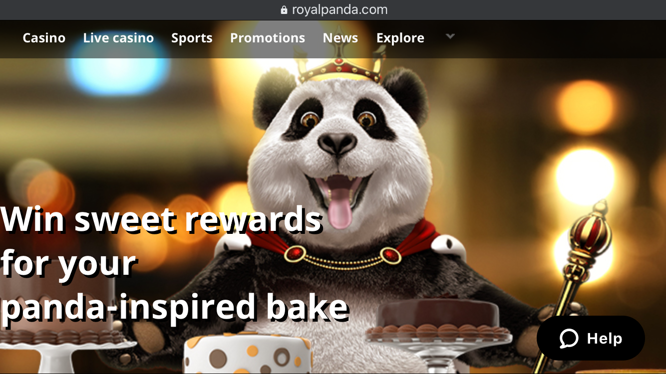 Royal Panda Bakes Promotion