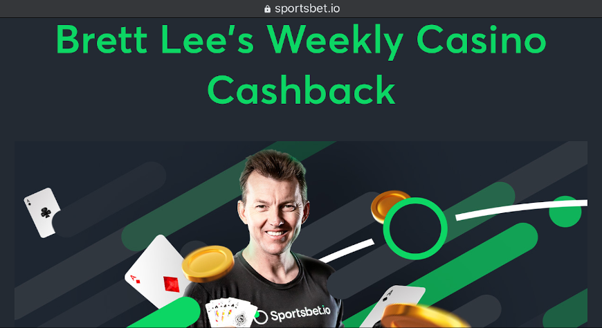 Brett Lee's Weekly Casino Cashback